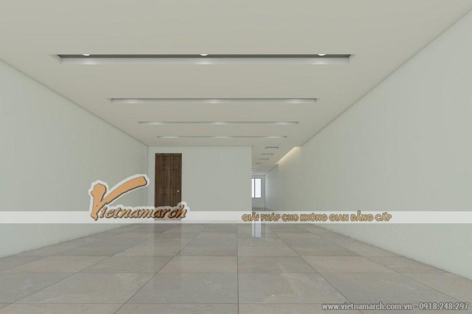 Thiết kế trần thạch cao nhà phố cho gia đình chị Hạnh - Hải Dương - 05