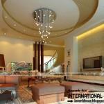 3 tiêu chí lựa chọn mẫu trần thạch cao cho phòng khách bất hủ chung cư D'.Le Roi Soleil Quảng An