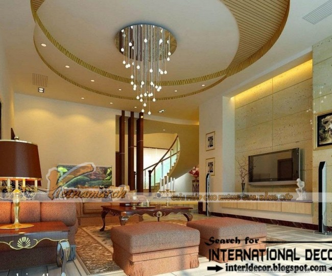 Tiếu chí chọn trần thạch cao phòng khách