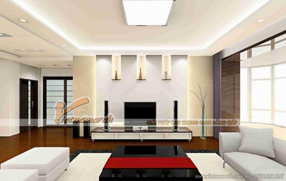 Thay đổi diện mạo ngôi nhà của bạn với trần thạch cao phòng khách - 07