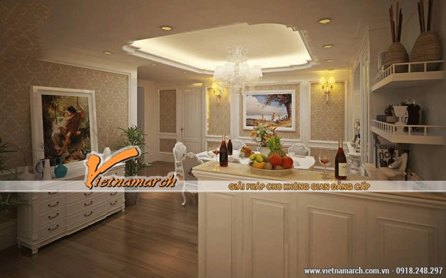 Nội thất phòng ăn - bếp tân cổ điển