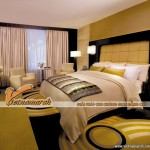 Lợi ích của việc thiết kế trần thạch cao cho phòng ngủ chung cư Goldmark City
