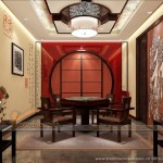 Đắm chìm trong những thiết kế trần thạch cao cổ điển đậm nét Á Đông