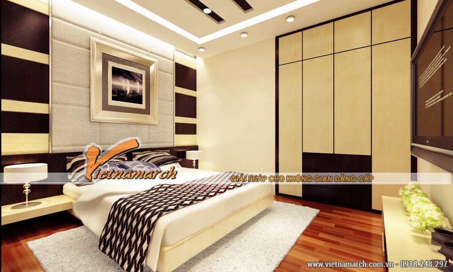 Tổng hợp mẫu thiết kế trần thạch cao cổ điển tại nhà anh Hùng.