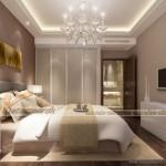 Những mẫu trần thạch cao phòng ngủ cổ điển đẹp nhất chung cư Time City