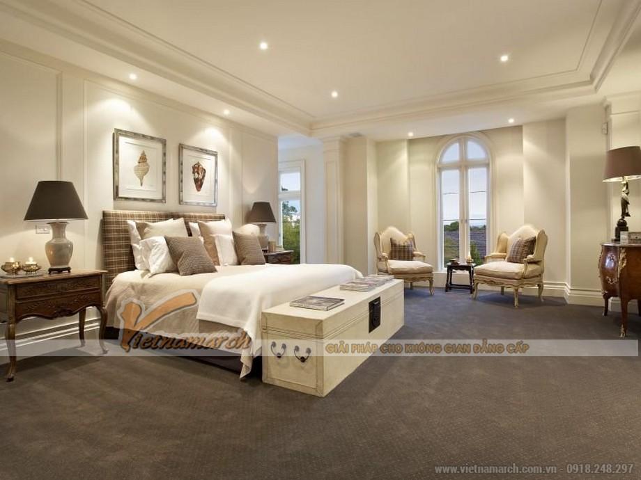 Mẫu trần thạch cao cho phòng ngủ đẹp.