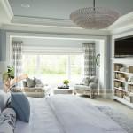 Giải đáp những lo lắng của khách hàng về thiết kế trần thạch cao cho phòng ngủ hiện đại 2016.
