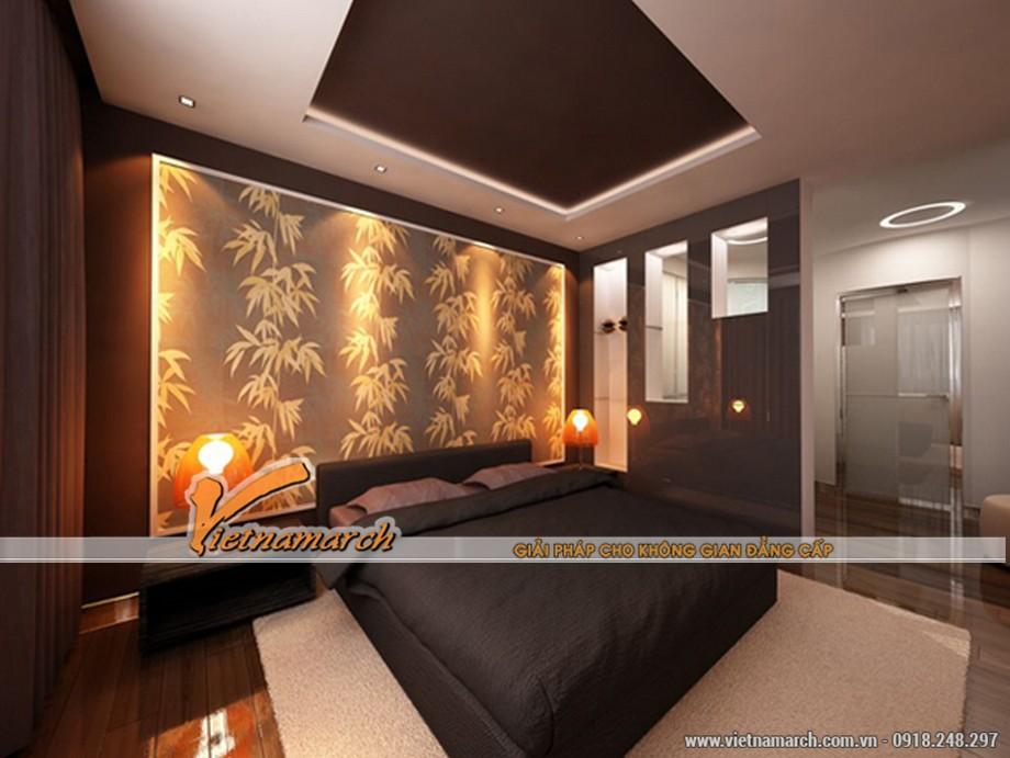 Thiết kế mẫu trần thạch cao phong cách cổ điển trong căn hộ Times City - Park Hill nhà bác Bình - 03