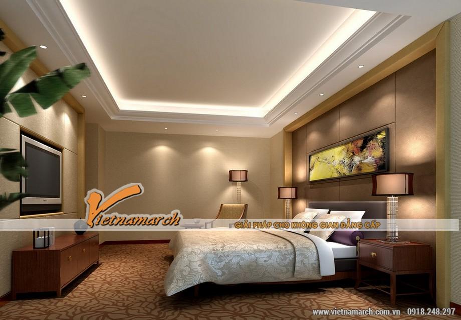 Mẫu trần thạch cao cho căn hộ chung cư - 03
