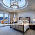 Tư vấn thiết kế mẫu trần thạch cao cho phòng ngủ căn hộ Penthouse hiệu quả