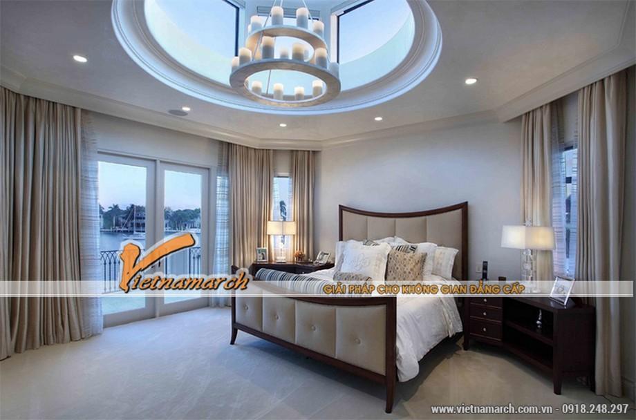 Mẫu trần thạch cao cho phòng ngủ đẹp 03