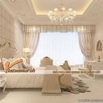 Cách chọn trần thạch cao đẹp cho phòng ngủ căn hộ khu chung cư Royal city.