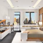 Thiết kế và thi công trần thạch cao phòng ngủ nhà anh Phong- Hoàn Kiếm- Hà Nội.