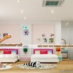 Thiết kế trần thạch cao phòng ngủ cho nhà mái tôn – sự lựa chọn hoàn hảo cho gia đình