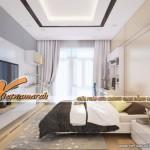 Tư vấn và thiết kế thi công các mẫu trần thạch cao cho nhà ống ở Hoàn Kiếm- Hà Nội