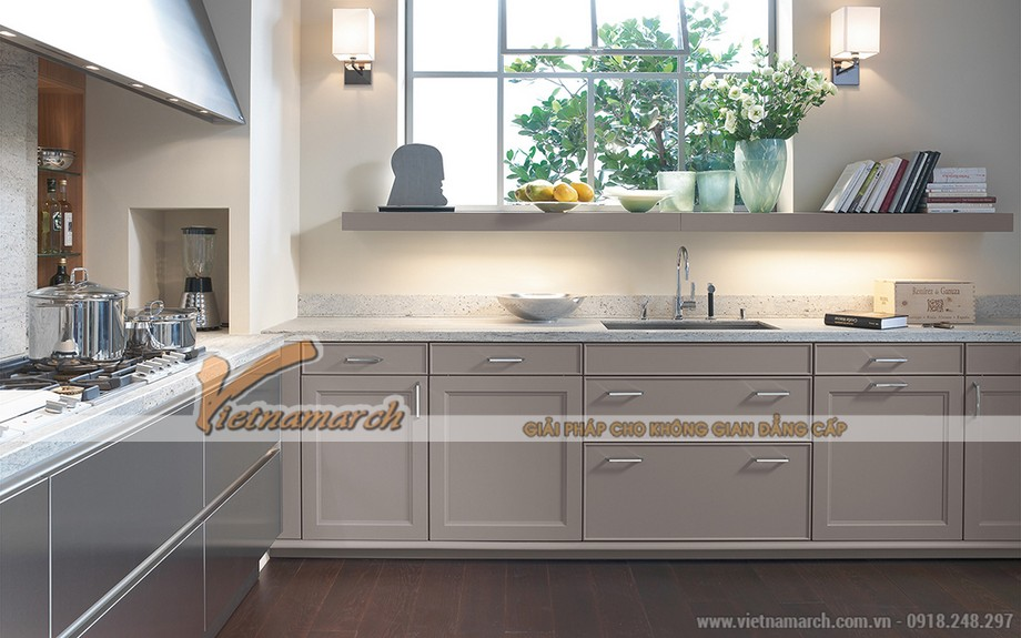 Tủ bếp SieMatic BeauxArts sự kết hợp giữa hiện đại và truyền thống dành cho Goldmark City