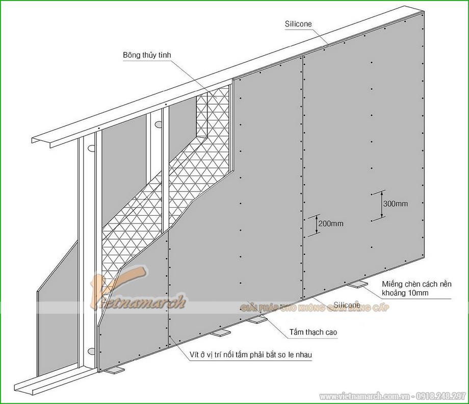 Khung vách ngăn V wall 150-152-03