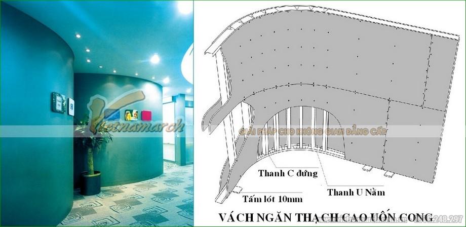 Khung vách ngăn V wall 125-127-05
