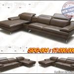 Mẫu sofa góc bằng da cao cấp với kiểu dáng thiết kế vượt trội – Mã: SDG-004