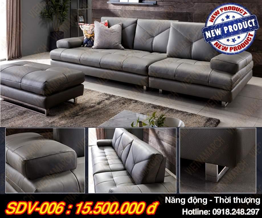 Mau ghe sofa vang sdv-006