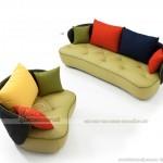 Mẫu sofa da thiết kế trẻ trung, cho những căn hộ hiện đại – VASD001