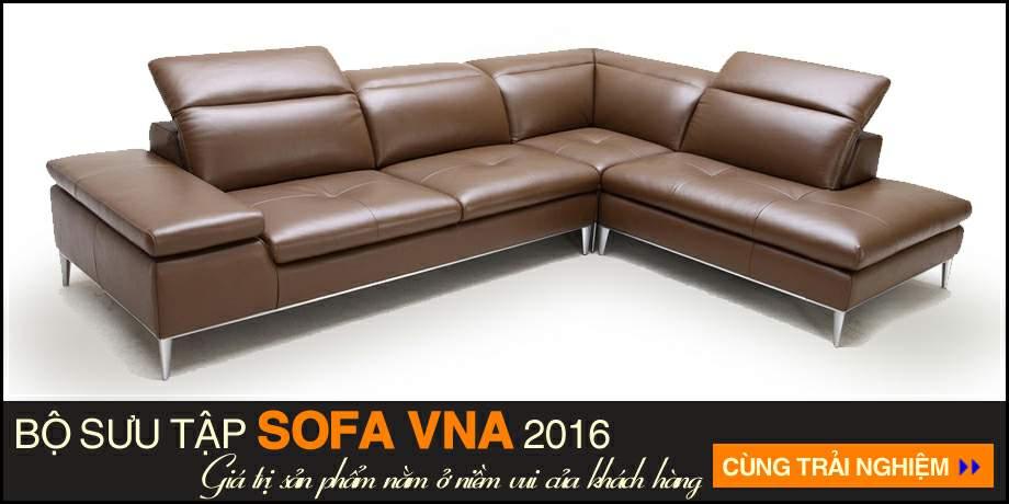 Sofa goc chat lieu da cao cap SDG-002