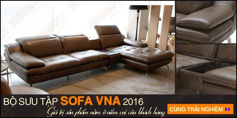 Sofa goc chat lieu da cao cap sdg-004