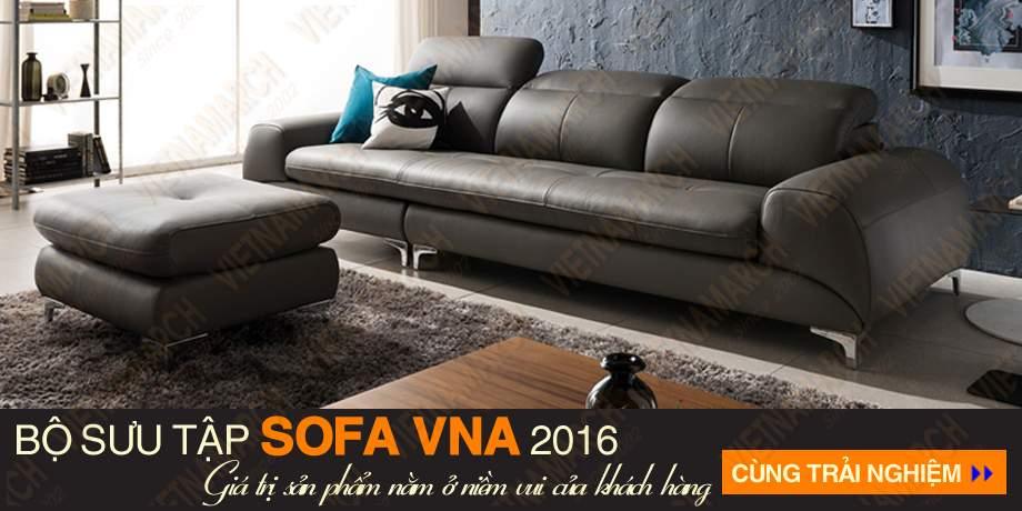 Sofa vang chat lieu da cao cap sdv-005