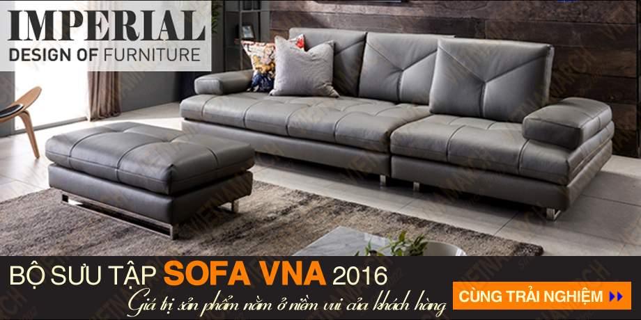 Sofa vang chat lieu da cao cap sdv-006