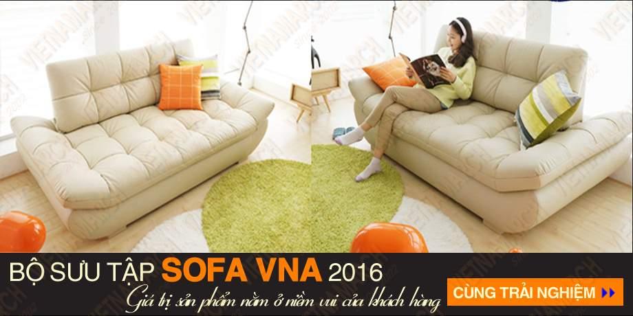Sofa vang chat lieu da cao cap sdv-007