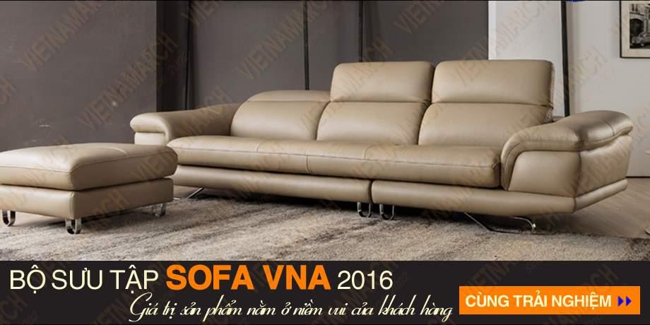 Sofa vang chat lieu da cao cap sdv-008