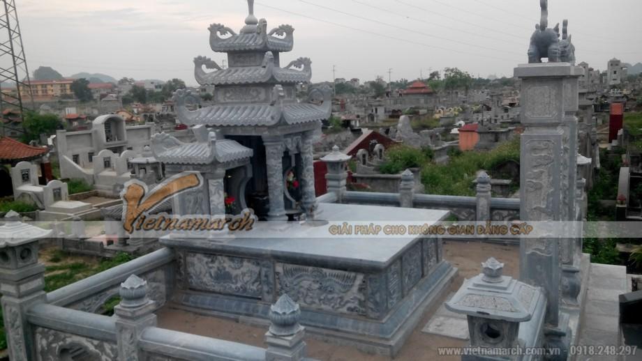 Hình ảnh công trình lăng mộ bằng đá