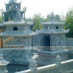 Thiết kế, thi công lăng mộ đá cho gia đình anh Hoàng ở Hải Phòng