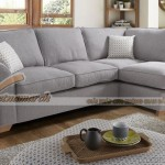 Phòng khách rộng rãi sang trọng với Mẫu ghế sofa góc chất liệu vải – Mã: SVG-019