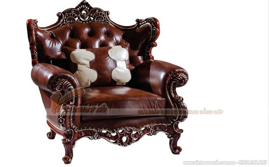 Bộ ghế sofa cổ điển SCD001