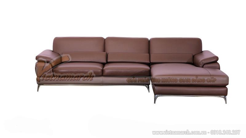 Mẫu ghế sofa góc cho phòng khách nhỏ - SDG007