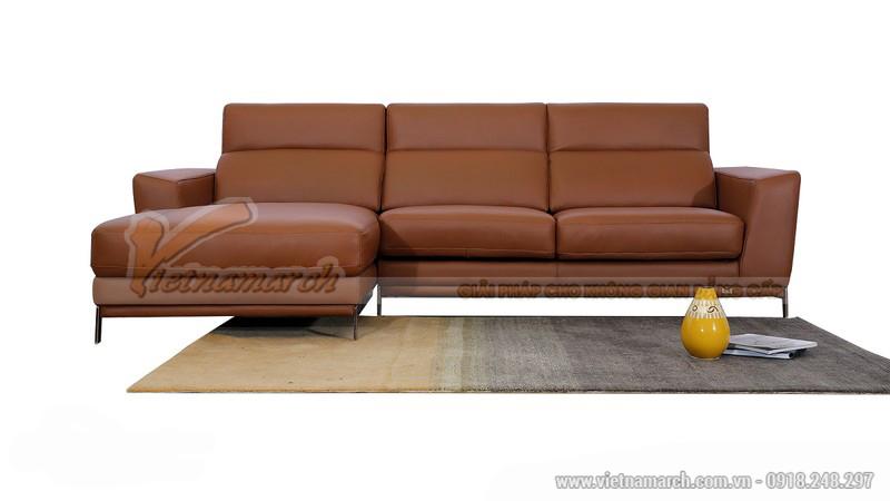 Bộ ghế sofa góc SDG007 thiết kế đơn giản mà hiện đại