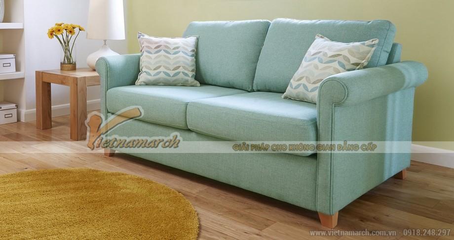 Ghế sofa vải với mẫu thiết kế bọc sợi tự nhiên sang trọng quý phái - Mã: SVG-032