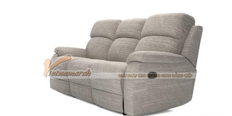 Mẫu ghế sofa văng vải nỉ 3 chỗ ngồi nhà phố - SVV051