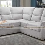 Mẫu ghế sofa góc vải bọc sợi cotton – Mã: SVG-052