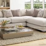 Mẫu ghế sofa vải nỉ 2x1x1 cao cấp nhập khẩu Hàn Quốc – Mã: SVG-055