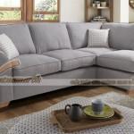 Bộ sofa góc chất liệu vải nỉ Sợi Linen khung cứng cáp khỏe khoắn – Mã: SVG-029