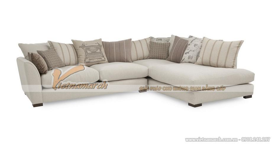 Mẫu ghế sofa vải nỉ 2x1x1 cao cấp nhập khẩu Hàn Quốc – SVG055