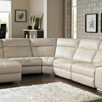 Bộ sofa góc SDG014 màu trắng nhẹ nhàng, tinh tế