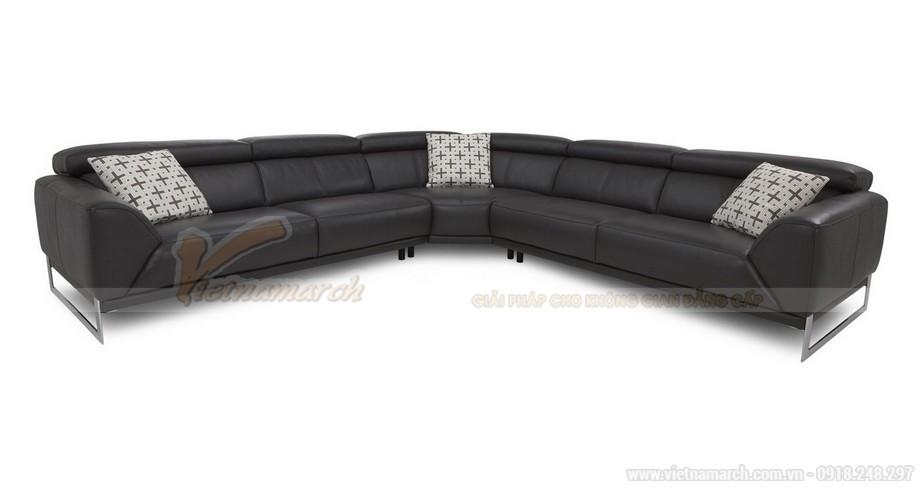 Bộ ghế sofa góc lớn SDG012 dành cho những phòng khách rộng