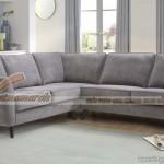 Mẫu ghế sofa góc 2x1x2 vải nỉ chất liệu Nhung cao cấp – Mã: SVG-030