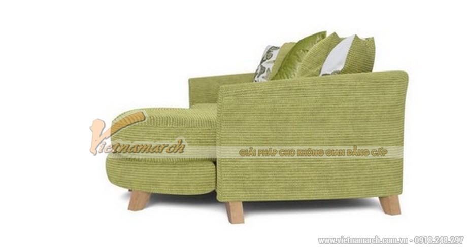 Mẫu ghế sofa vải nỉ SFVN17- 05