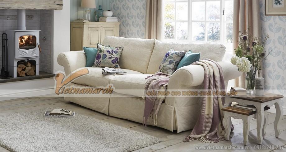 Chọn màu sắc ghế sofa phòng khách cho người mệnh Kim - 04