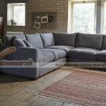 Mẫu ghế sofa góc vải nỉ chống ẩm mốc – Mã: SVG-034