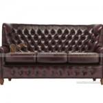 Ghế sofa da cổ điển phong cách Tây Âu – SCD002